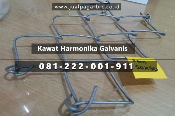 contoh gambar kawat harmonika